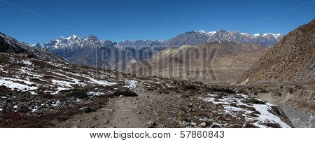 Foot-path of the Annapurna Round