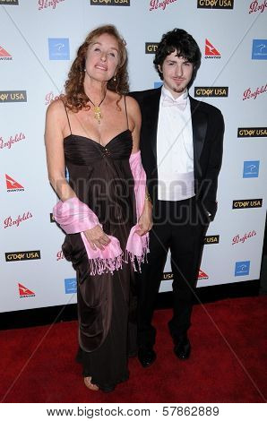 Rory Flynn and Sean Flynn  at the G'Day USA Australia Week 2009 Black Tie Gala. Renaissance Hotel Grand Ballroom, Hollywood, CA. 01-18-09