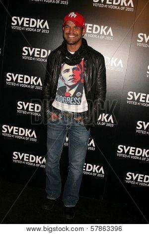 Amaury Nolasco at Svedka Vodka's Inauguration Soiree. Guy's Nightclub, Los Angeles, CA. 01-20-09