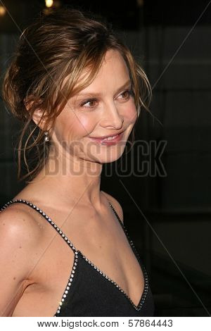 Calista Flockhart  at the 6th Annual 'Living Legends of Aviation' Awards Ceremony. The Beverly Hilton Hotel, Beverly Hills, CA. 01-22-09