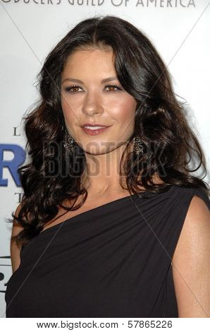 Catherine Zeta-Jones at the 20th Annual Producers Guild Awards. Hollywood Palladium, Hollywood, CA. 01-24-09