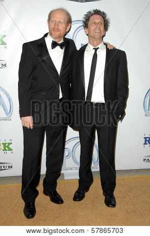 Ron Howard and Brian Grazer at the 20th Annual Producers Guild Awards. Hollywood Palladium, Hollywood, CA. 01-24-09