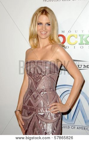 January Jones at the 20th Annual Producers Guild Awards. Hollywood Palladium, Hollywood, CA. 01-24-09