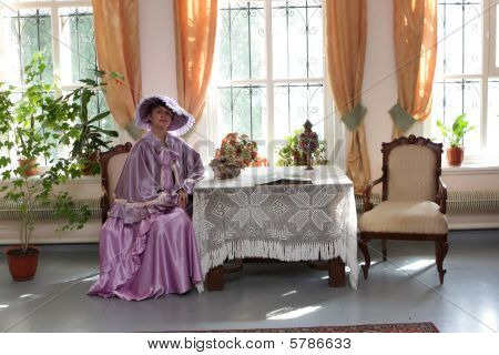Noblewoman At Home