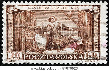 Copernicus Stamp