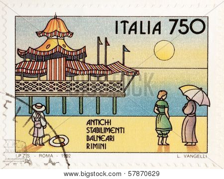 Rimini Stamp