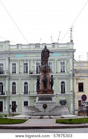 Monument To Empress Catherine, Odessa