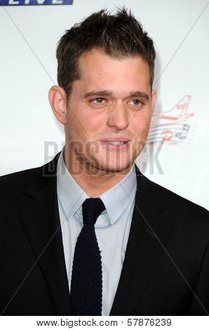 Michael Buble at the 2009 Musicares Person of the Year Gala. Los Angeles Convention Center, Los Angeles, CA. 02-06-09