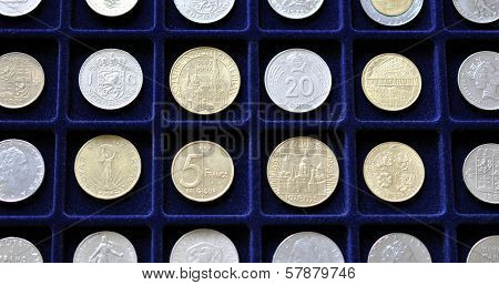 numismatic coin collection