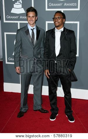 Matthew Santos and Lupe Fiasco at the 51st Annual GRAMMY Awards. Staples Center, Los Angeles, CA. 02-08-09