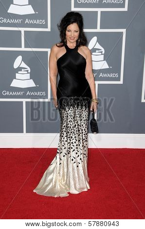 Fran Drescher at the 51st Annual GRAMMY Awards. Staples Center, Los Angeles, CA. 02-08-09