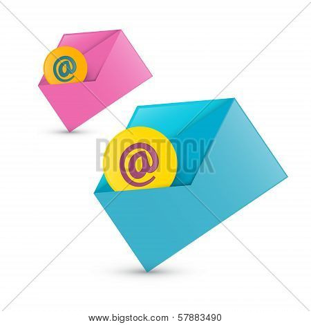 E-mail, Email Icons