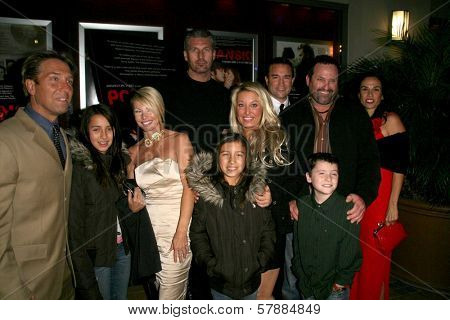 Edmund Druilhet and family at the Charity Screening of 'Polanski Unauthorized' to Benefit the Children's Defense League. Laemmle Sunset 5 Cinemas, West Hollywood, CA. 02-10-09