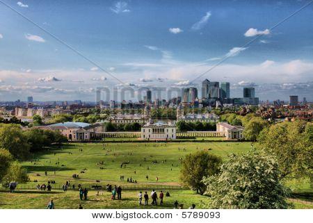 Greenwich  at weekend
