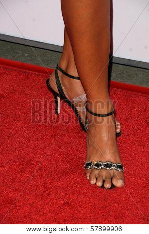 Jessie Camacho's shoes  at the 8th Annual Padres Contra El Cancer's 'El Sueno De Esperanza' Benefit Gala. Hollywood and Highland Grand Ballroom, Hollywood, CA. 10-07-08