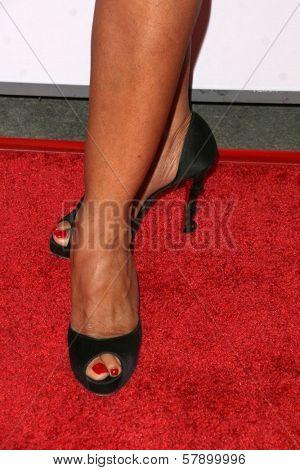 Gina Ravera's shoes  at the 8th Annual Padres Contra El Cancer's 'El Sueno De Esperanza' Benefit Gala. Hollywood and Highland Grand Ballroom, Hollywood, CA. 10-07-08