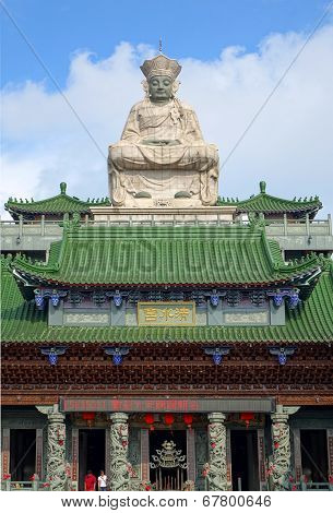 The Qing Shui Temple In Southern Taiwan