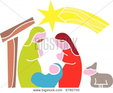 Star of Bethlehem. Nativity