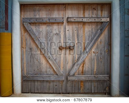 Wooden Farm Gate.