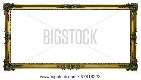 Large Gold Landscape Picture Frame