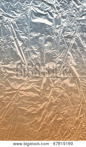 Silver and orange texture degraded