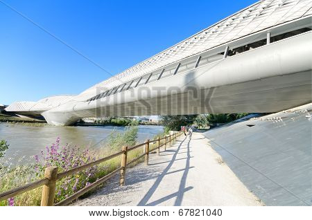 Bridge Pavilion in Zaragoza on 16 May 2013