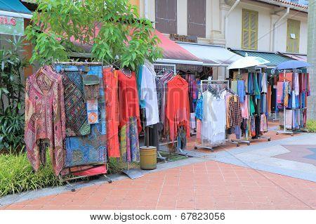 Clothes shop Arab Street Singapore