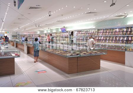 Gold shop Little India Singapore