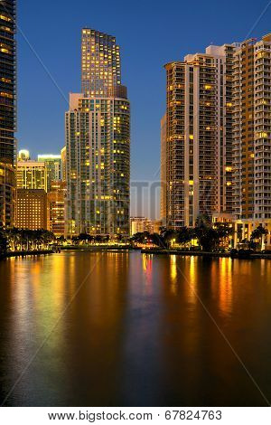 Downtown Miami Financial District Brickell