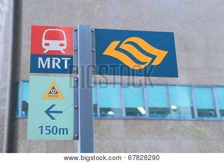 MRT Singapore train system