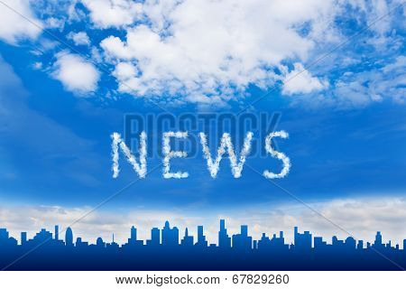 News Text On Cloud