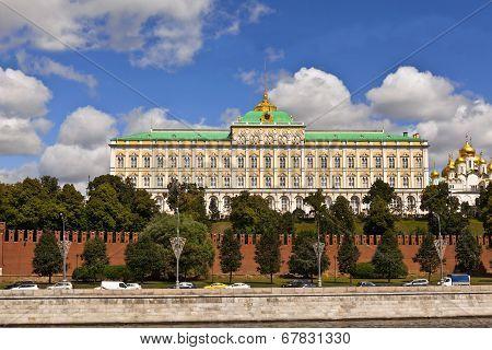 Moscow Kremlin's Grand Palace.