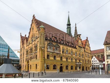 Ulm Town Hall (rathaus) - Germany, Baden-wurttemberg