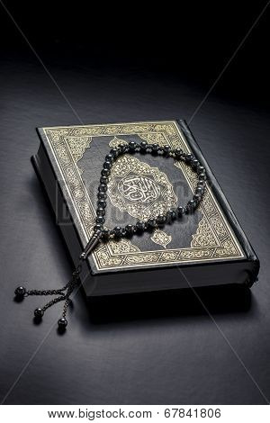Quran Book And Subha