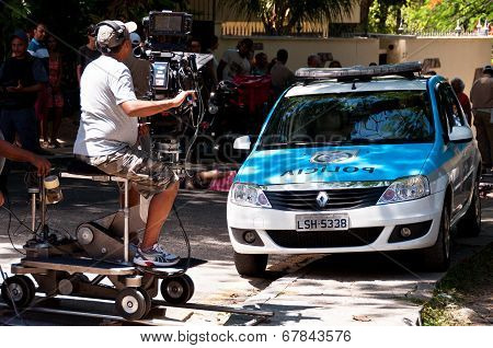 Brazilian Soap Opera Episode Filming