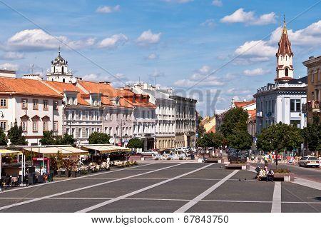 Vilnius Town Hall Square