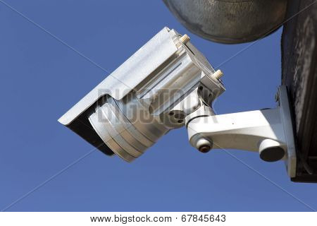 Day & Night Color Ip Surveillance Camera In A Hotel