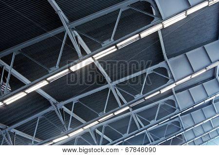 Metal Roof Of Industrial Building