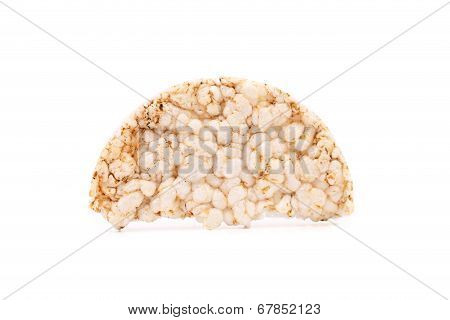 Puffed rice snack.