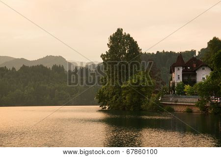 House at lake Bled