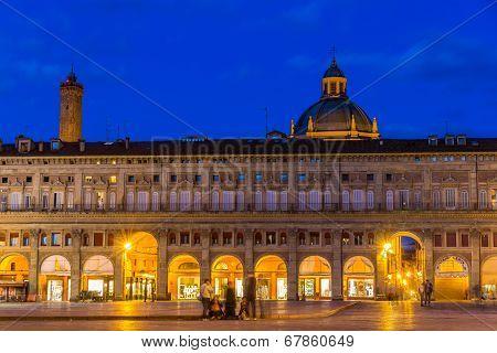 Palazzo Dei Banchi In Bologna, Italy