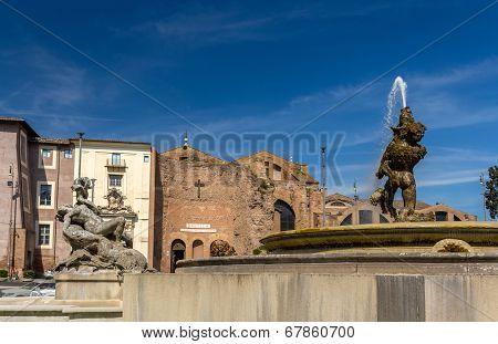 Fontana Delle Naiadi N Rome, Italy
