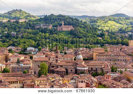 View Of Basilica Di San Domenico In Bologna, Italy