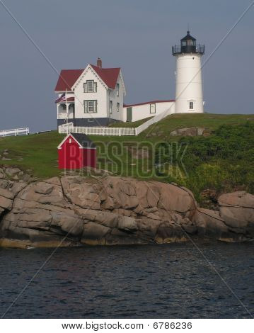 Nubble Lighthouse, York Maine, USA