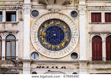 Clock Tower Of Venice