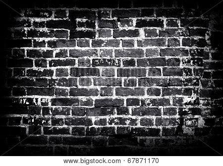 Old Wall Of Brick