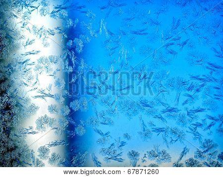 Frosty Winter Pattern