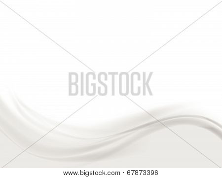 Abstract wavy gray background
