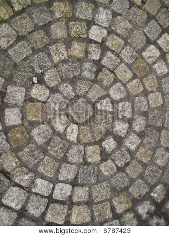 Circular Brick Background