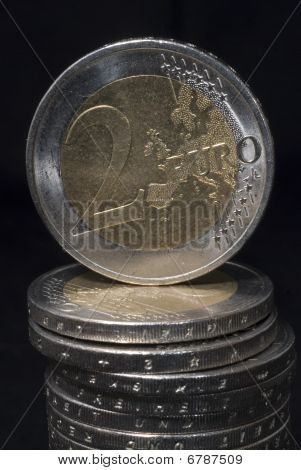 Two Euro Coin.